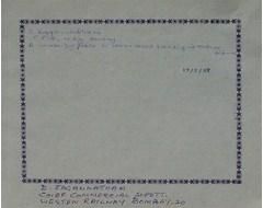 D. Jagannadham -  Chief Commercial Supdtt., Western Railway, Bombay