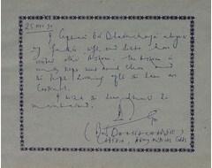 B. S. Bhattacharya - Captain, Army Medical Corps.