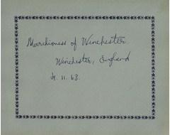 Marchioness of Winchester