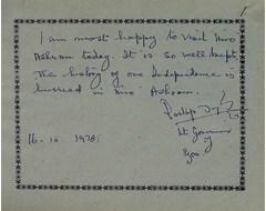 Partapsingh, Lt. Governor of Goa