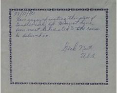 Dick neef, U. S. A.