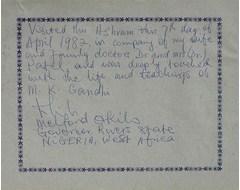 Melfond Okils - Governor, Rwere State Nigeria, West Africa
