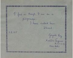 Gayatri Ray, Mahila Congress A. I. C. C. New Delhi