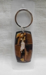 keychain with Gandhiji's Photograph Silver