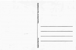 R.K Laxman Postcard 2 Back Cover