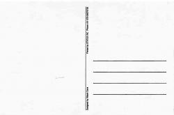 R.K Laxman Postcard 4 Back Cover